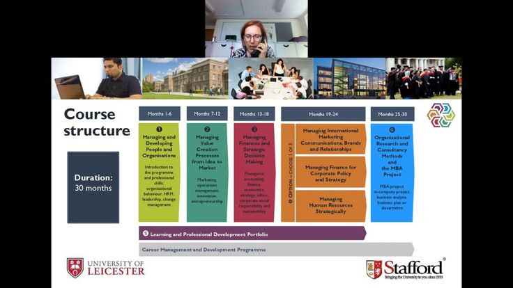 University of Leicester MBA Webinar   July 19, 2017