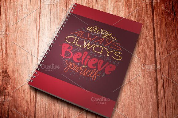 Believe In Yourself by barsrsind on @creativemarket