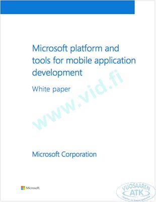 Microsoft MADP Whitepaper