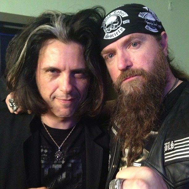 Having a Wylde night at the #GoldenGods w my dude Zakk