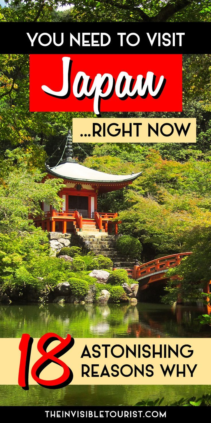 18 Astonishing Reasons Why You Need To Visit Japan Right Now