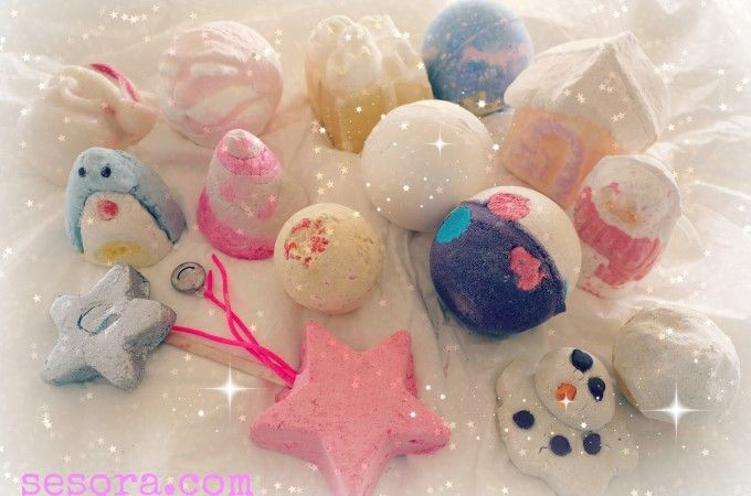 LUSH Christmas Haul | Sesora Online Tempted by LUSH's Limited Edition Christmas Collection, read our impressions here of the most popular bombs, melts and bubble bars and see if you can resist! http://www.sesora.com/lush-christmas-haul/
