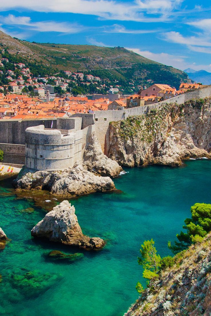 Ancient City Walls Dubrovnik Croatia Croatia Travel Places To Visit Croatia