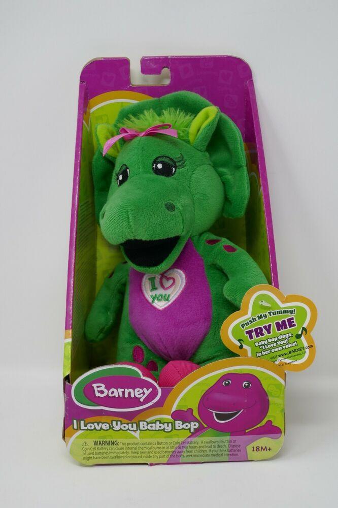 Fisher Price Barney I Love You Baby Bop 10