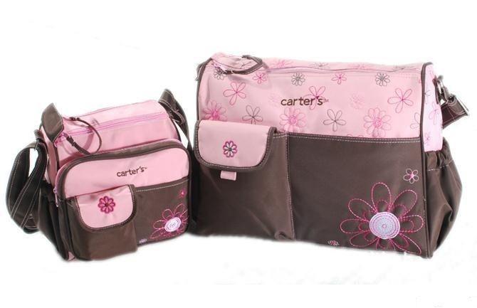 dribbleanddrool - Embroidered Nappy Bag Set  - Super Handy Set  - Pink, $35.00 (http://www.dribbleanddrool.com.au/embroidered-nappy-bag-set-super-handy-set-pink/)