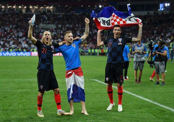 Mario Mandzukic Photos Photos England Vs Croatia Semi Final 2018 Fifa World Cup Russia Mario Mandzukic Fifa Fifa World Cup