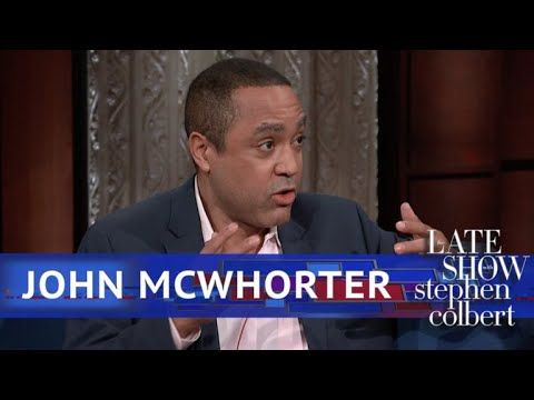 """Lexicographer John McWhorter Uses Words To Explain Words @JohnHMcWhorter #TrumpsLanguge """"We've all known people who wrote like that and talked liked that and these are people who were defined ,dispite all their adversity, as never becoming President of the USA. He's quite ordinary, but he's the first person that has no sense, whatsoever, that if your using language as the President of the USA.."""