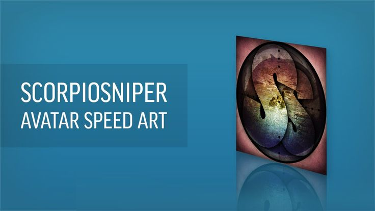 This is a speed art of me making a YouTube avatar for SCORPIOsniper.