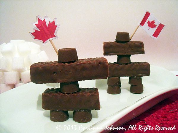 Inukshuk Candy Treats For Canada Day