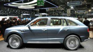 2017 Bentley SUV Model