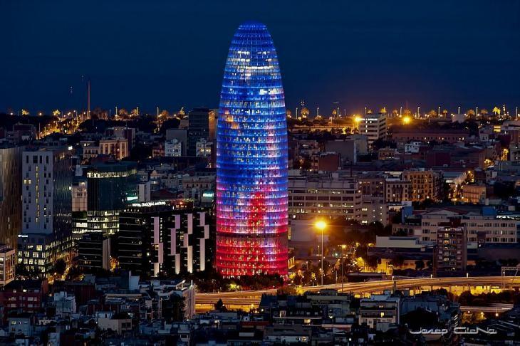 Torre Abgar, Barcelona, España.