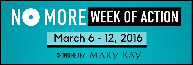 NO MORE Week 2016 - Together we can end domestic violence and sexual assault