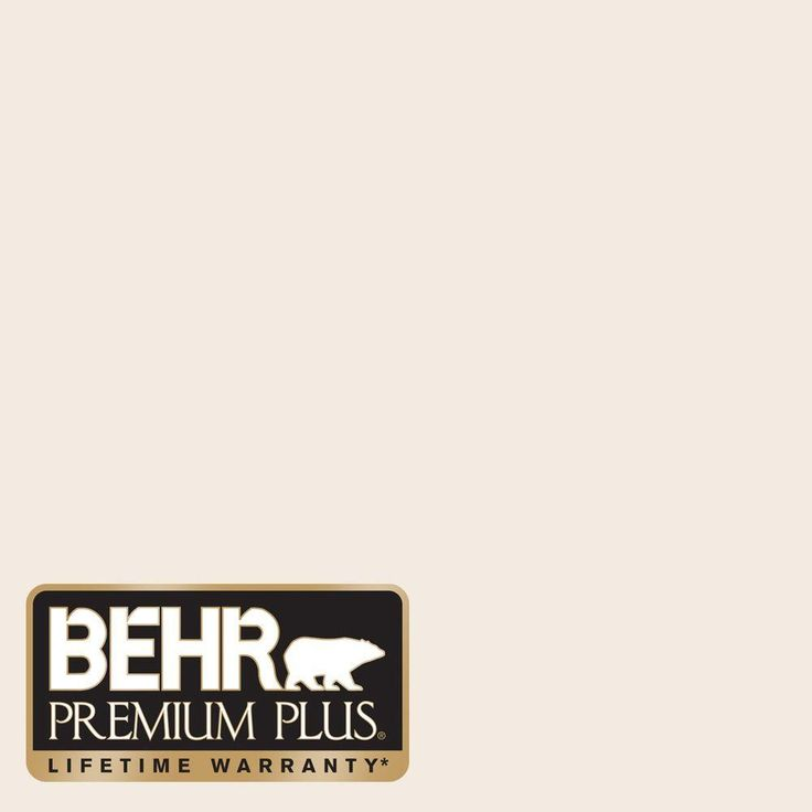 Behr premium plus 1 gal 12 swiss coffee flat low odor