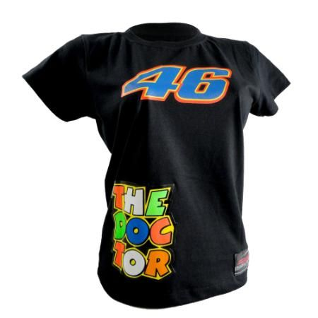 Camiseta Feminina - VALENTINO ROSSI THE DOCTOR R $ 41,9 - Riders Motos