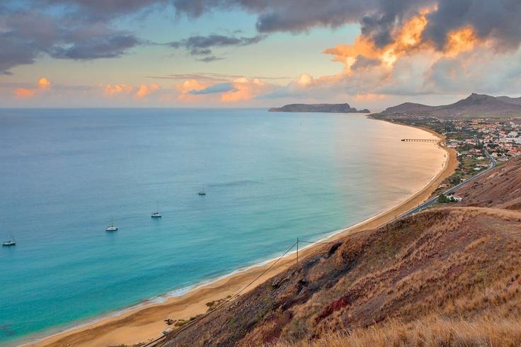 Porto Santo 9kms beach, Madeira