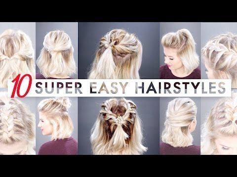 7 EASY GYM/WORKOUT SHORT HAIRSTYLES TUTORIAL   Milabu - Makeup Hairstyles Web
