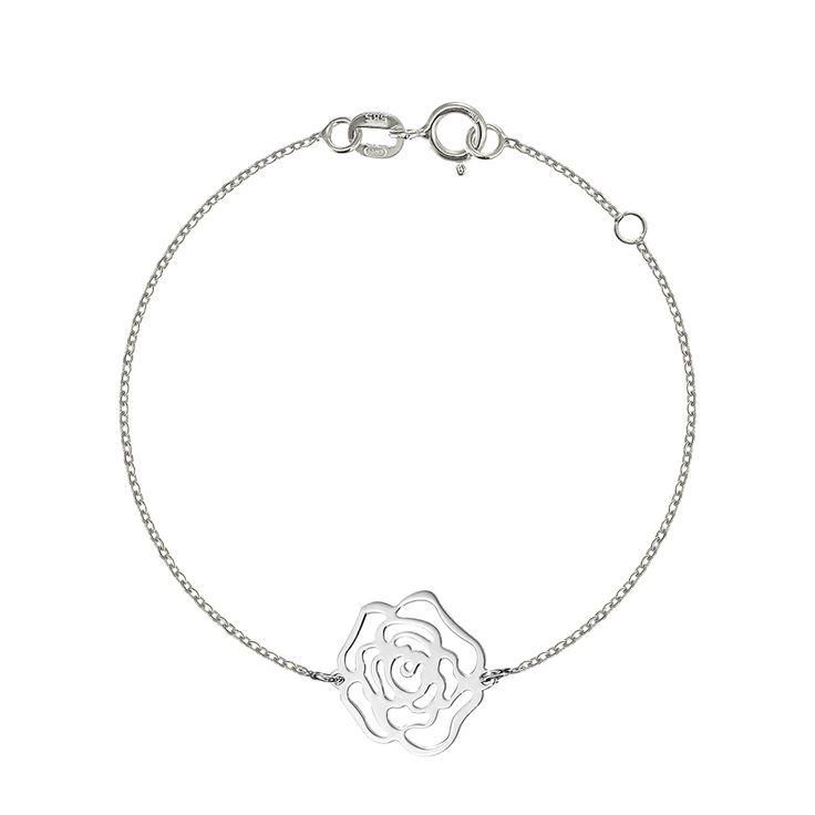 Bratara cu trandafir , bijuterii din aur alb, aur roz, aur galben, realizate de bijuteria Safir. Pentru mai multe detalii va rugam sa ne contactati.