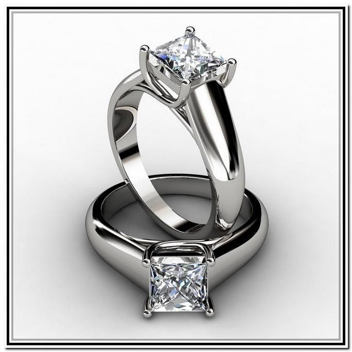 c65586799 Wow I really adore this type of ring! #simpleprincesscutrings ...