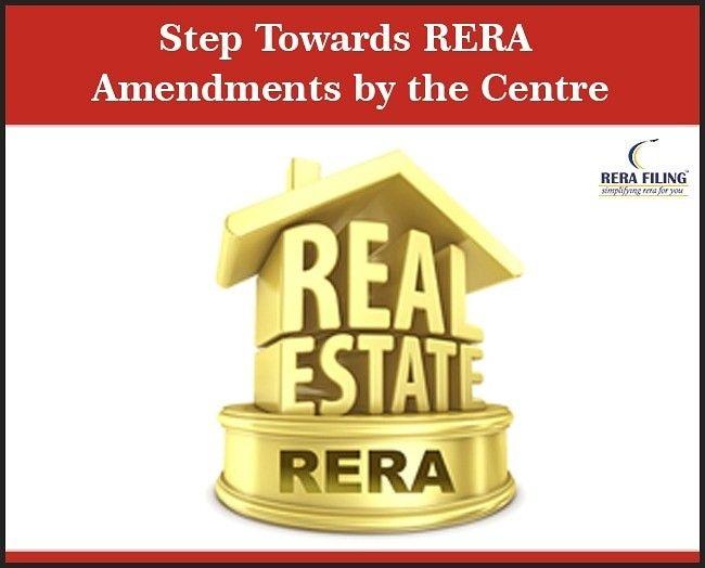 Step Towards Rera Amendments By The Centre Urban Affairs Amendments National Convention