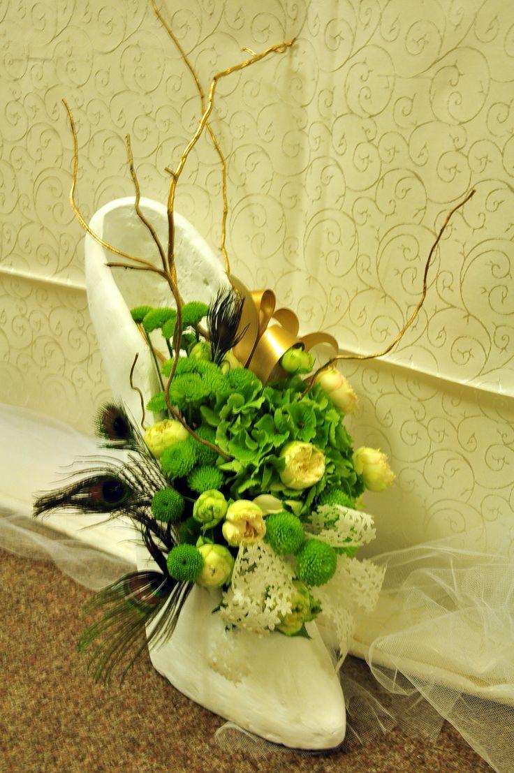 Flower arrangement for weddings by Decor cu flori