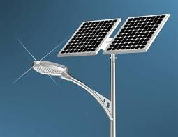 Solar product also use in street lights.