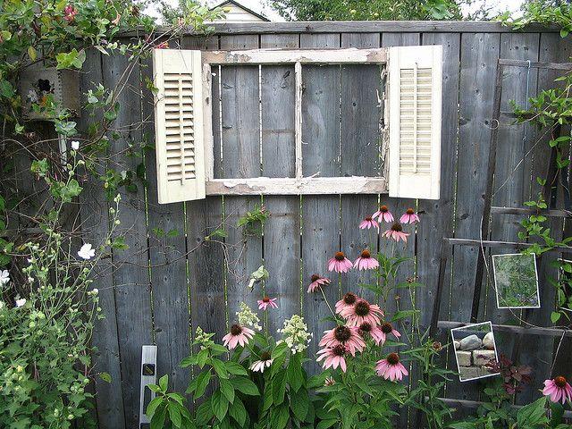 Garden Fence Window