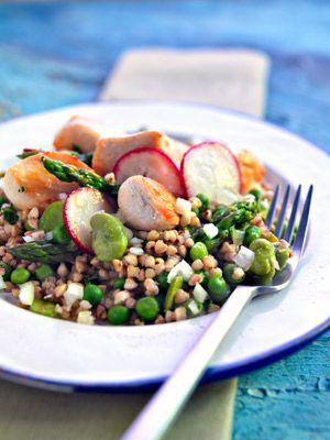 Ensalada de pollo y trigo sarraceno: http://www.mujeresreales.es/cocina/ensaladas/articulo/ensalada-de-pollo-y-trigo-sarraceno-891454928436