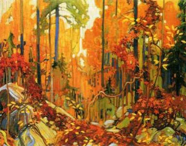 Tom Thomson Autumn's Garland