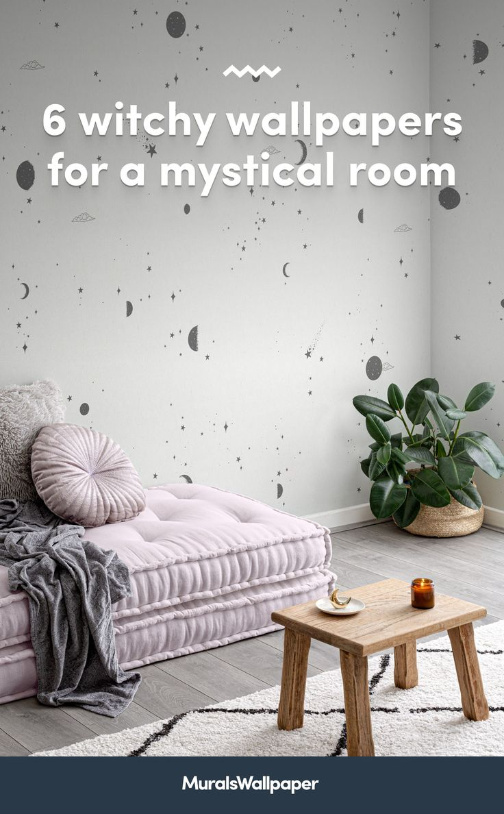 Styling your space with new spiritual decor and magical accessories? This collection of witchy wallpapers with tips and ideas for a chilled-out aesthetic will provide some bewitching inspiration for your own mystical room.