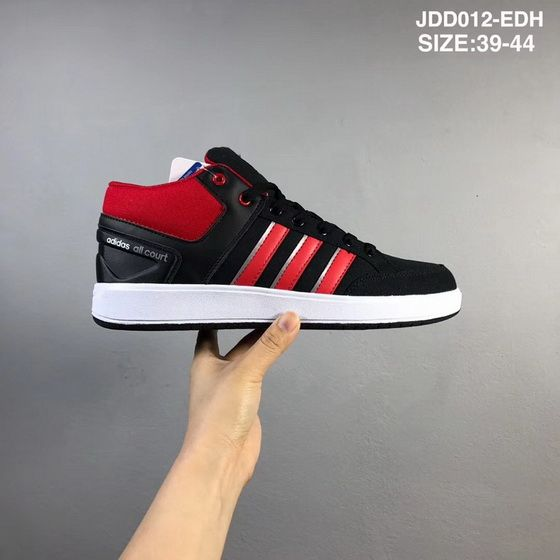 newest e7810 cf9ed Adidas Cf All Court Mid Coal Black Rose Red Authentic 2018 Shoe