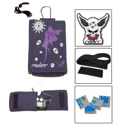 Girls Fairies Value Pack for Insulin Pumps. Everything needed to keep your pump safe and secure - plus it looks great!