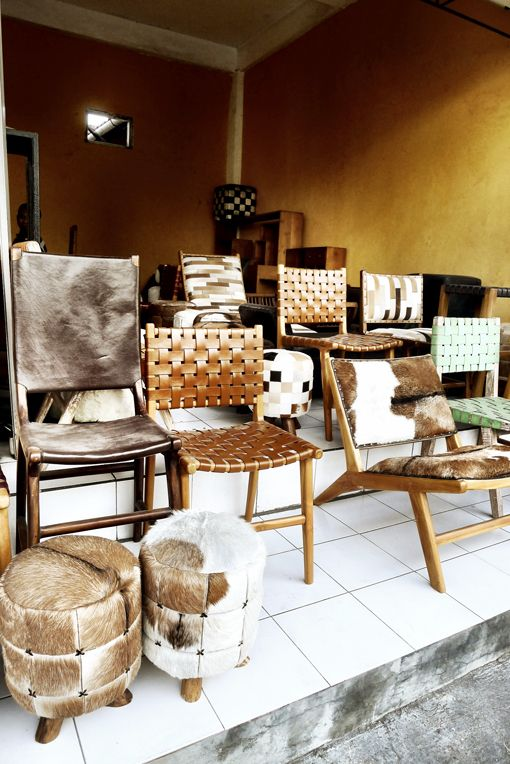 Furniture shopping  Bali