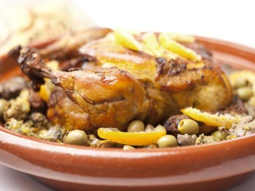 Tajine de poulet à la marocaine : Recette de Tajine de poulet à la marocaine - Marmiton