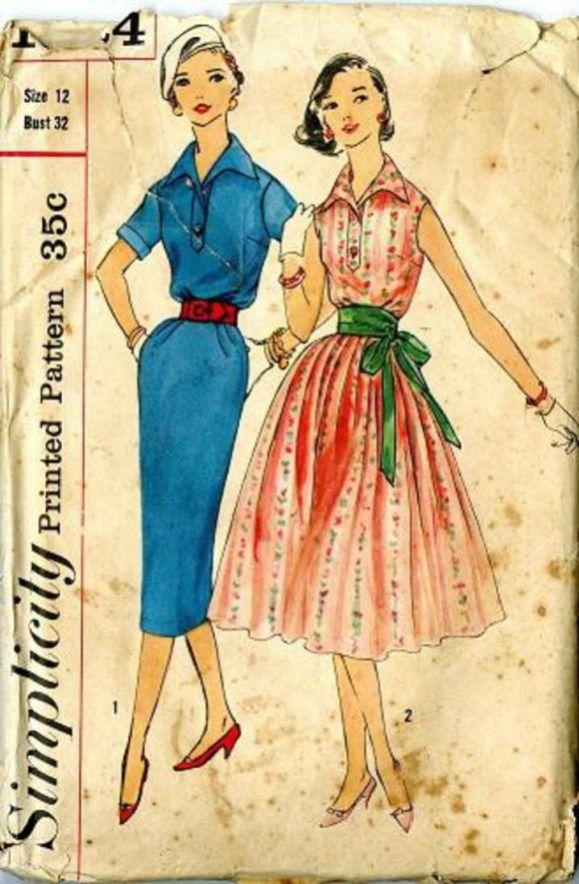 1d85aaa3 Vintage Sewing Patterns Vintage Pattern Warehouse Vintage Sewing Patterns  Vintage Fashion
