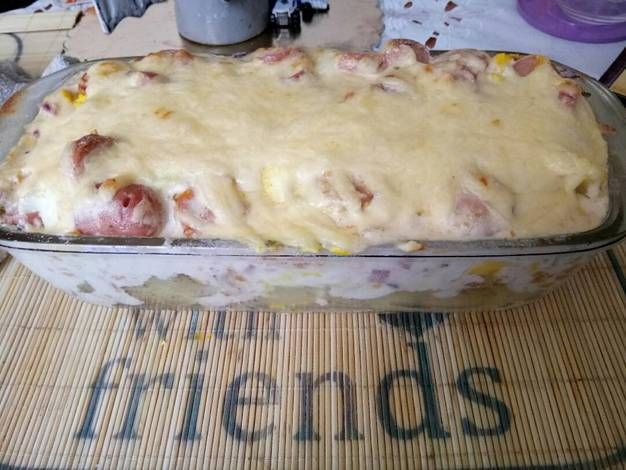 Tejszínes sajtos rakott burgonya