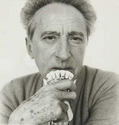 Jean Cocteau - By Richard Avedon, 1958