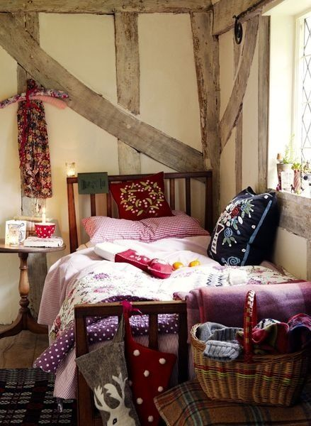 Amazing Holiday Interiors In The Work Of Brent Darby. Find This Pin And More On English  Cottage Bedroom ...