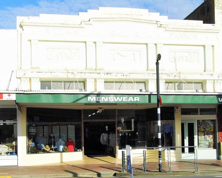 Jack Fannon Menswear. Victoria Street.