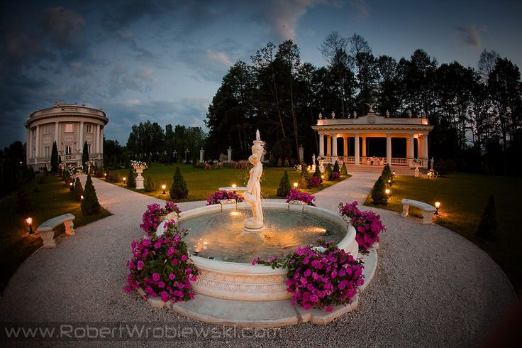 Pałacyk Otrębusy - Ogród z Altanką, pełna oferta weselna na :  http://www.gdziewesele.pl/Domy-weselne/Palacyk-Otrebusy.html