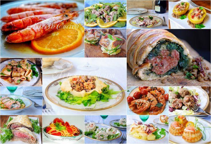 MENU DI CAPODANNO RICETTE sfiziose per menu di carne o pesce
