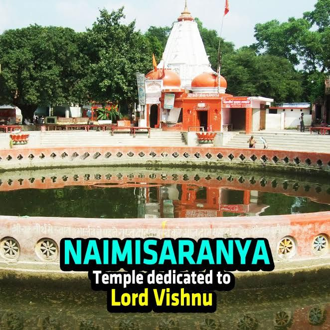 Naimisaranya - Temple dedicated to Lord Vishnu - http://bit.ly/2qqXjvS #Naimisaranyam is a one of the #Hindu #DivyaDesams located in the north Indian state of #UttarPradesh. It is dedicated to #LordVishnu and also credited as his 108th abode on earth. In this video, we have described the greatness of this temple along with all the rare facts related to it.  #Artha #HinduTemple
