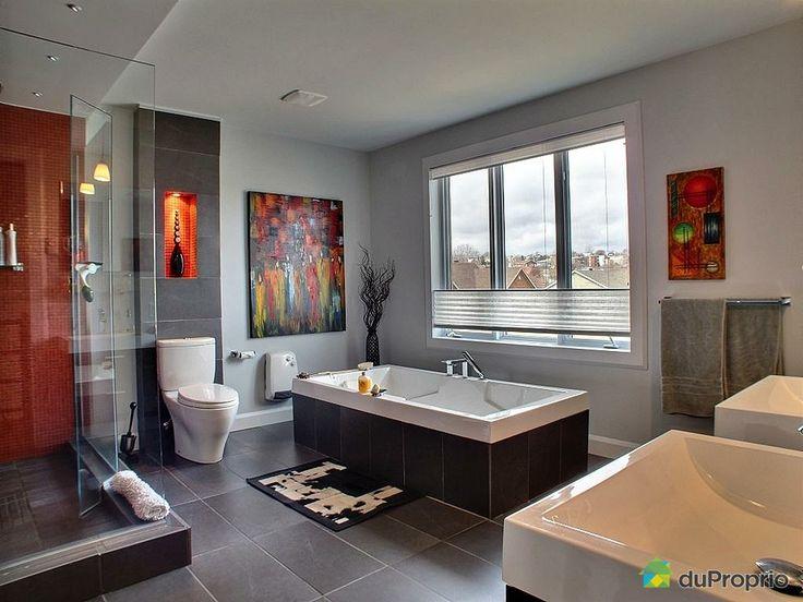 Salle de bain de rêve à voir à Beauport #DuProprio