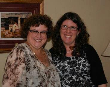 Laura & her Aunt Sandra