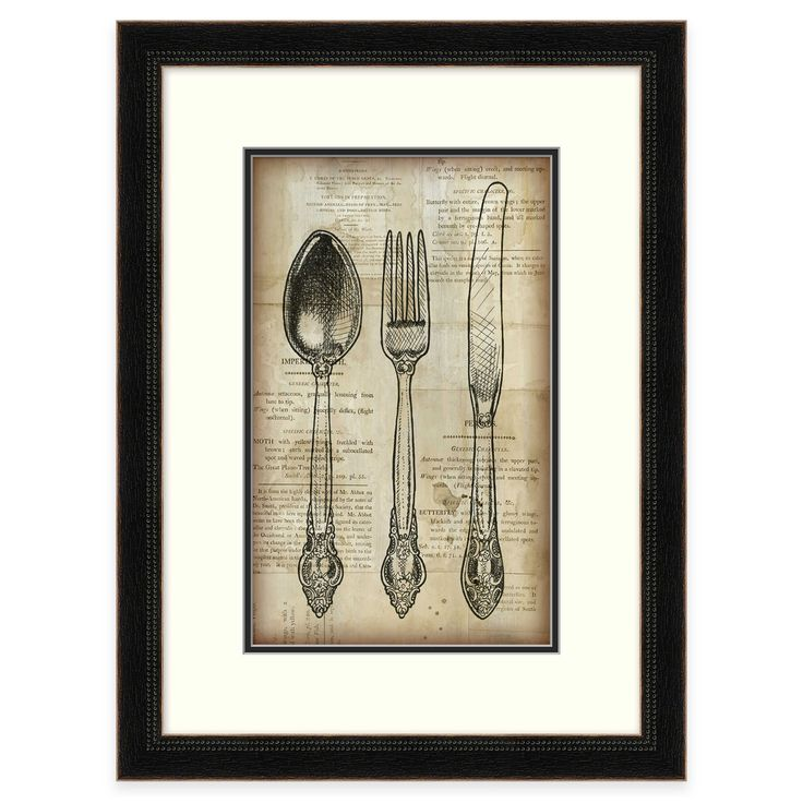 Kitchen Wall Decor Bed Bath And Beyond: 17 Best Images About Knife, Fork, & Spoon Wall Art On