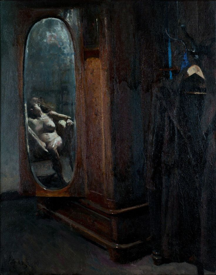 Giorgos Rorris Παρείσακτο βλέμμα (έργο συλλογής / collection`s artwork) | Felios Collection Ρόρρης Γιώργος
