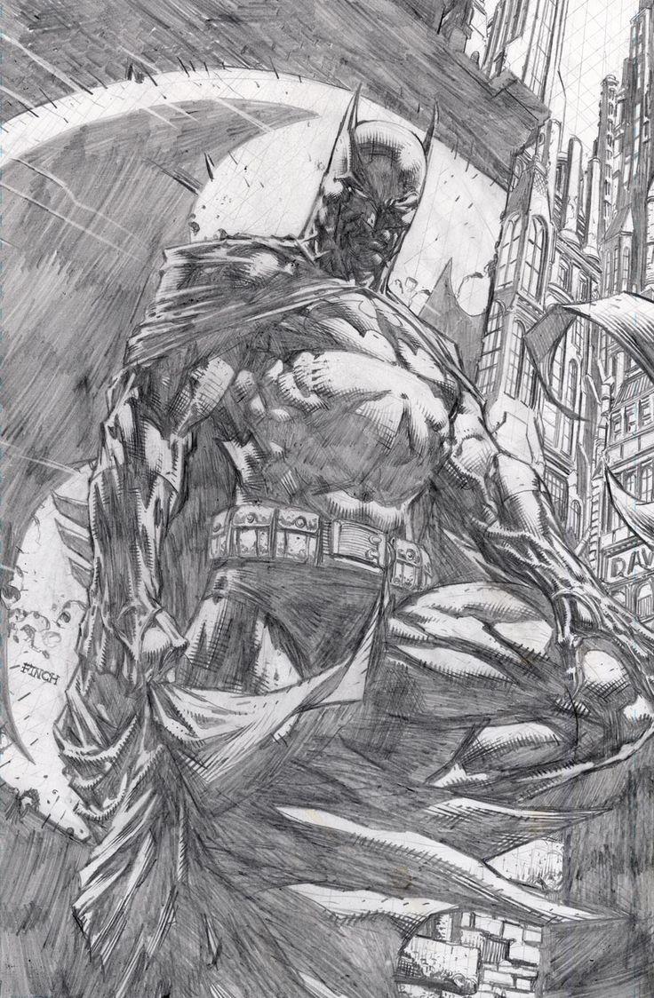 Batman: The Dark Knight by David Finch *