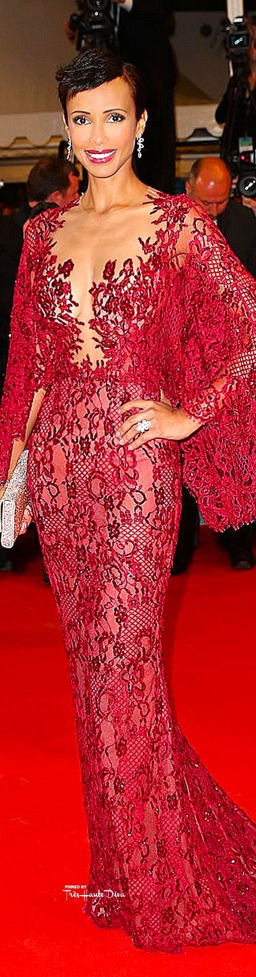 #Sonia #Rolland in Zuhair Murad♔ Cannes Film Festival 2015 Red Carpet ♔ Très Haute Diva ♔