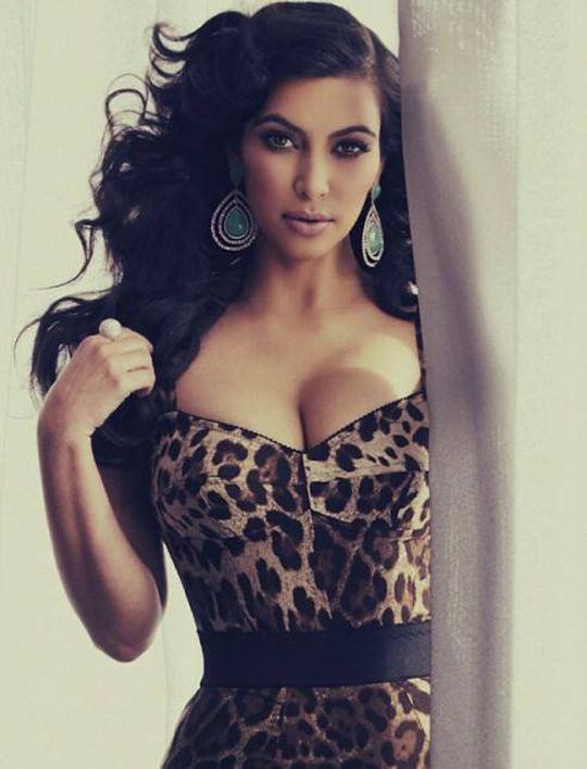 Kim Kardashian #Hollywood #Fashion