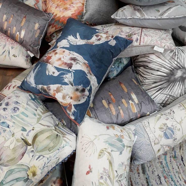Всем отличного дня! В коллекции @voyage_deco появились новые #подушки! Уже скоро ждем #новинки в #Galleria_Arben #fabric #pillows #ткани #decoration #NewCollections #Accessories #New2018 #VoyageDeco #дизайнинтерьера
