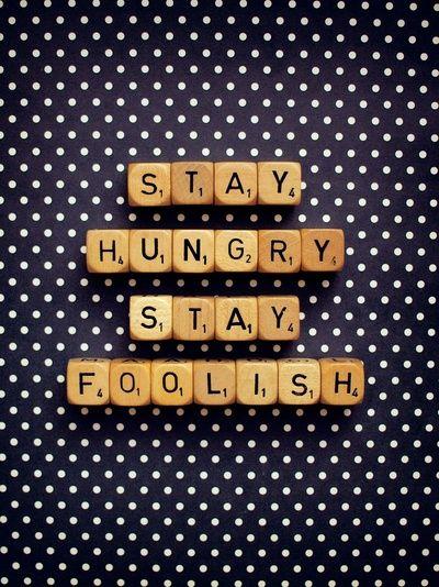 Stay Hungry Stay Foolish, Happeemonkee